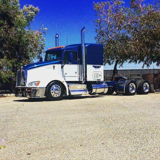 Kenworth Custom T660 | KW660 | Peterbilt trucks, Big rig