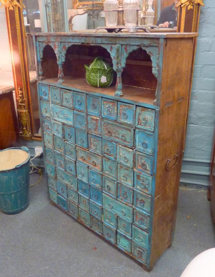 An Apothecary Cabinet That Iu0027d Use To Store My Creative Supplies