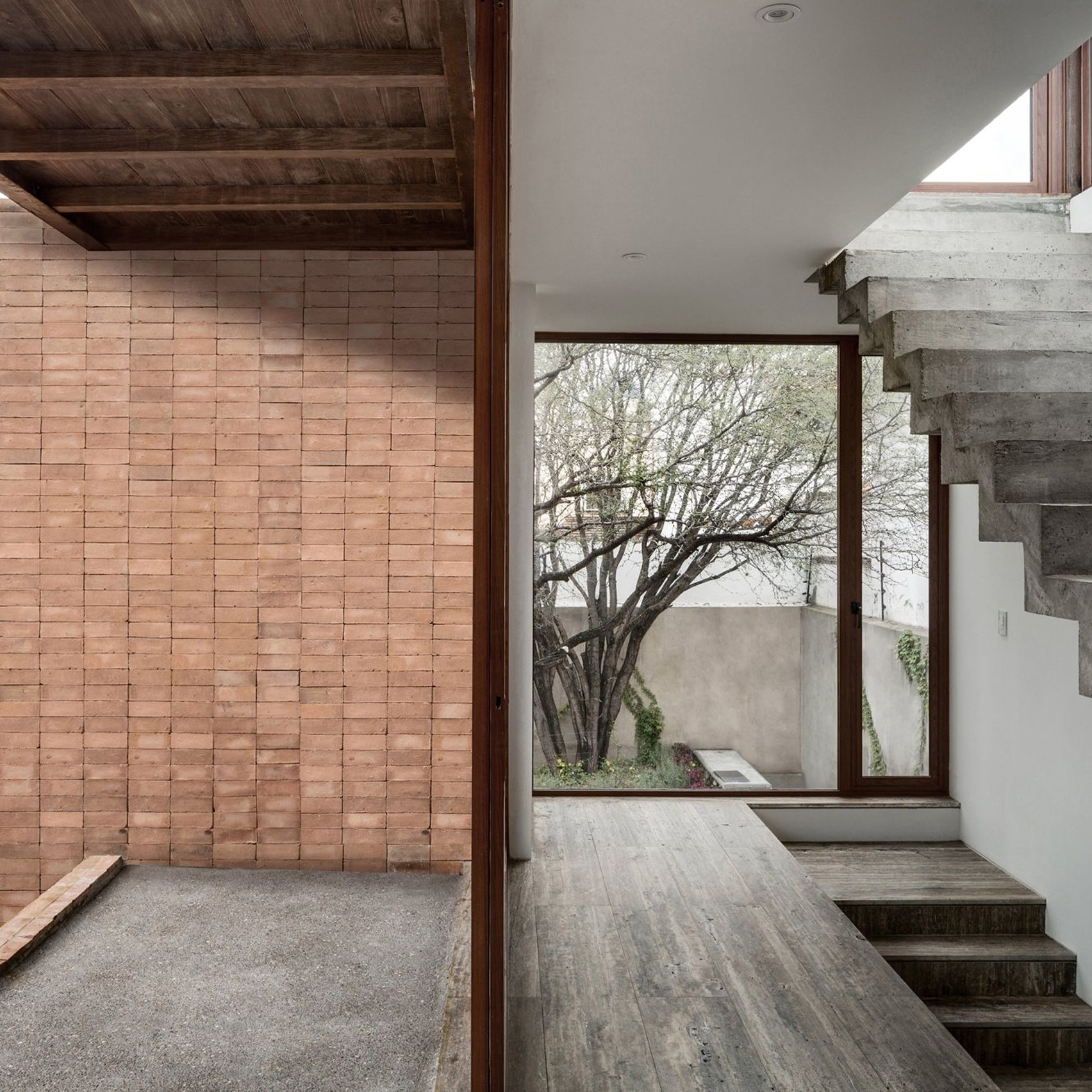 10 Home Interiors That Make Use Of Board Marked Concrete | STAIRS |  Pinterest | Concrete, Concrete Interiors And Interiors