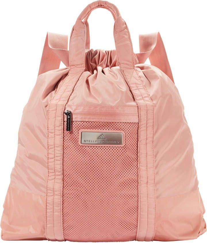 hot sales 22127 46ad8 Adidas X Stella Mccartney Blush Cinnamon Gym Sack