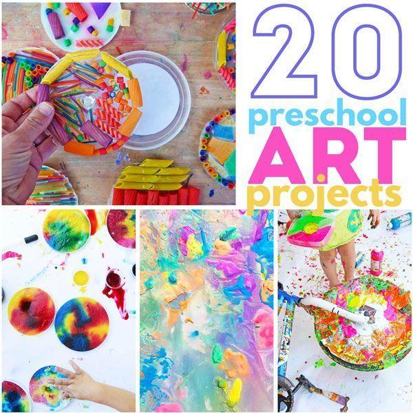 20 Preschool Art Projects