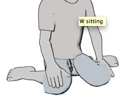 W-sitting?  What's the big deal?