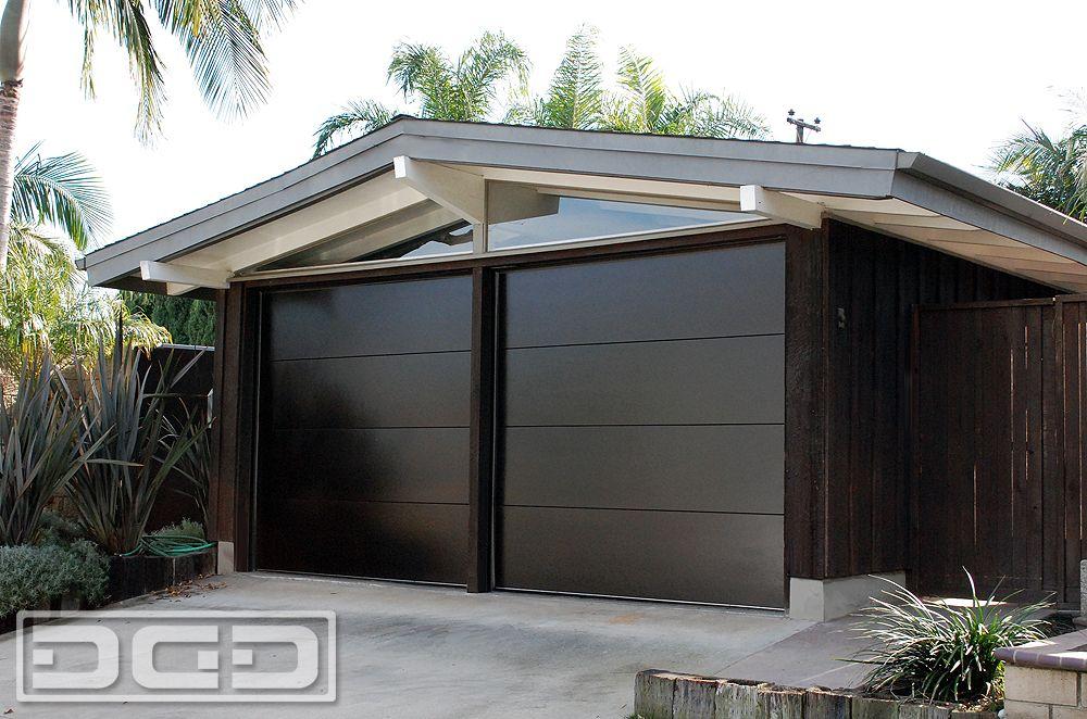 Mid Century Modern Garage Doors Handcrafted In Orange County