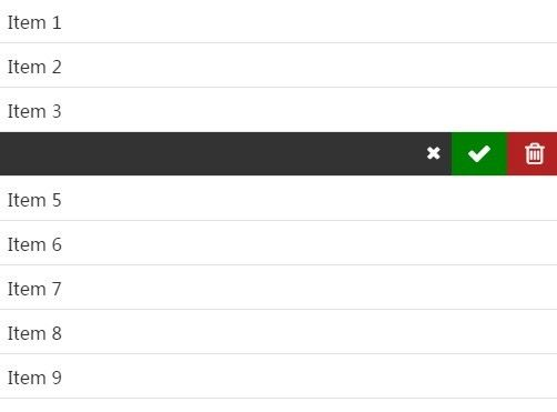 jQuery Plugin For iOS-like Swipe To Delete - swipeTo