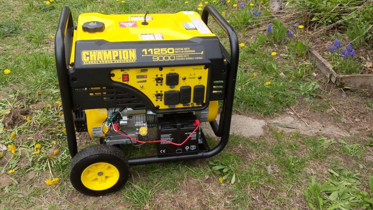 Champion Generator 11250w 9000w From Costco Costco Generation Outdoor Power Equipment