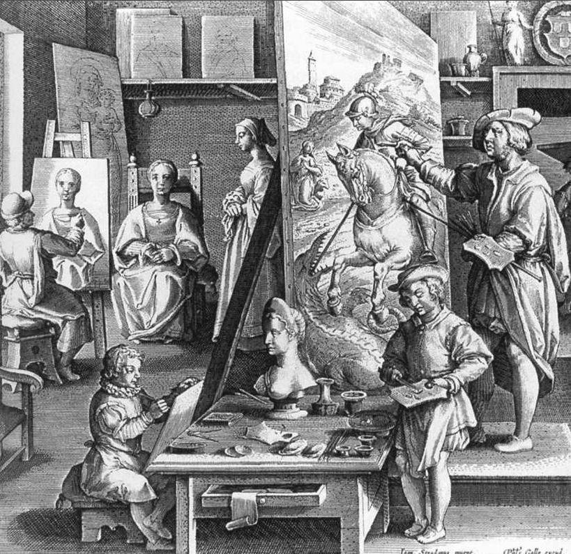 101--2-CONDIZIONE E ISTRUZIONE DELLA DONNA NELL'ITALIA DEL RINASCIMENTO----------------------Non bastava più l'apprendistato settennale nella bottega di un maestro:gli artisti dovevano apprendere le arti liberali,con particolare riguardo per la matematica e le leggi per la prospettiva,e possedere una buona conoscenza dell'arte antica,sia sui testi letterari sia direttamente sulle opere,che si potevano vedere soprattutto a Roma,comprendeva anche lo studio rigoroso del corpo umano,dapprima sui…