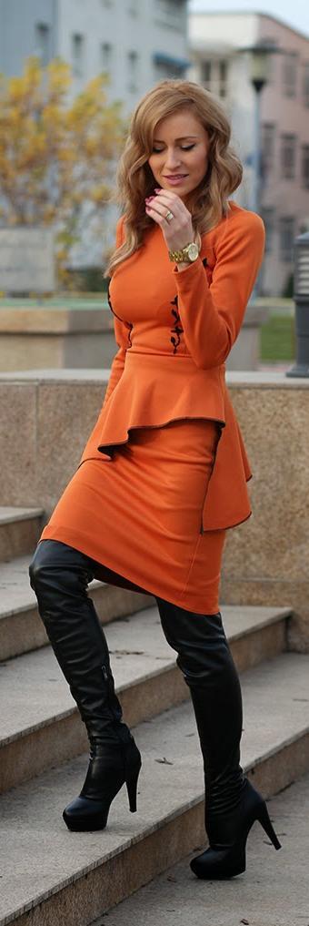 Orange you gorgeous in that orange