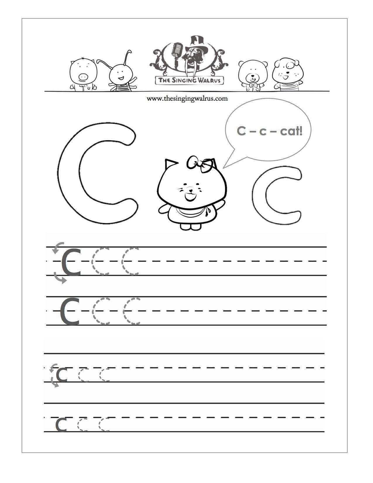 Printable Letter Sheets In