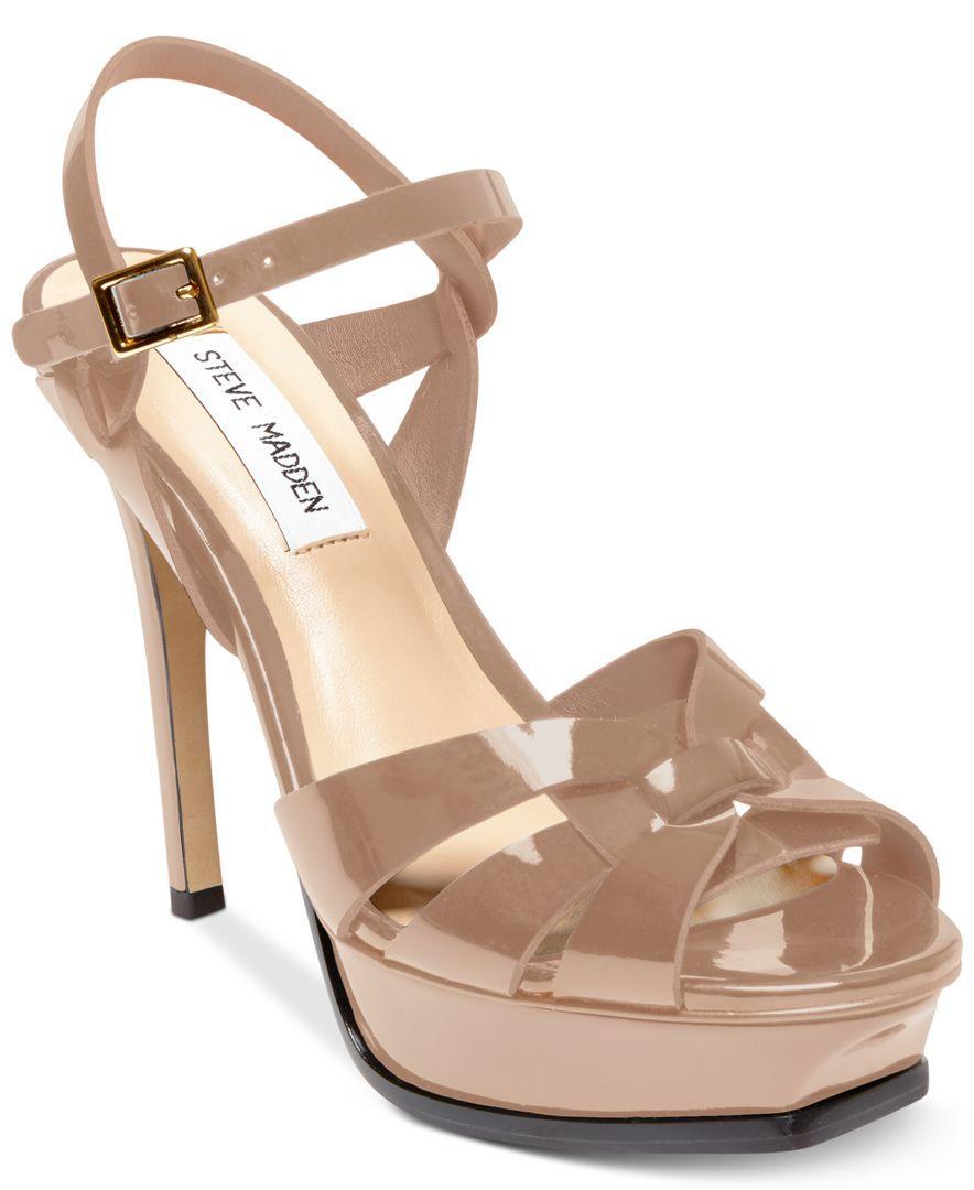 88cbef5d5aca Steve Madden Women s Kananda Platform High-Heel Sandals