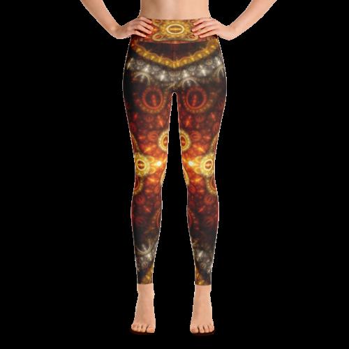 All Over Yoga Leggings Mockup Generator Yoga Leggings Leggings Fabric Weights
