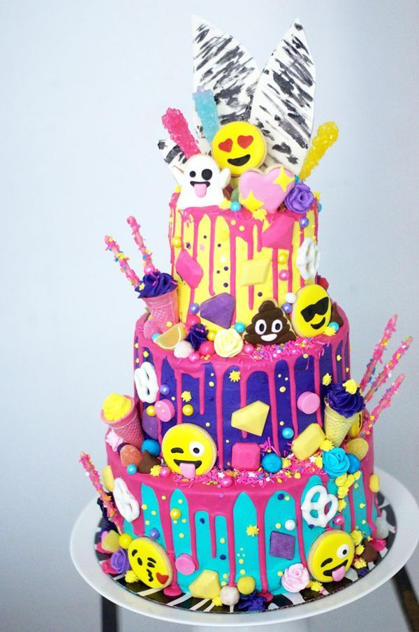 30 Emoji Birthday Party Ideas Emoji Birthday Cake Emoji