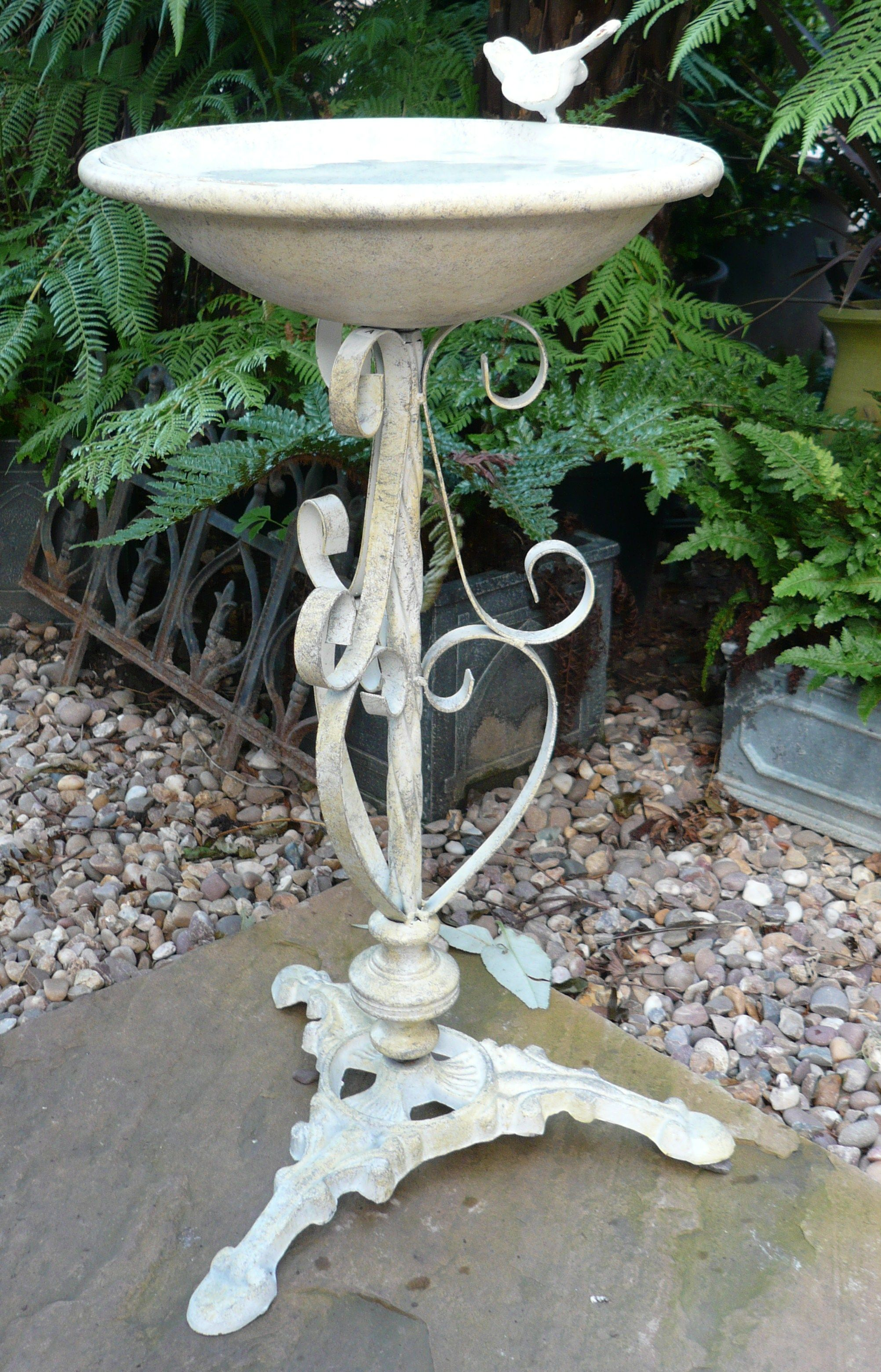 Antique Bird Bath Bird Bath Vintage Bird Cage Stone Bird Baths