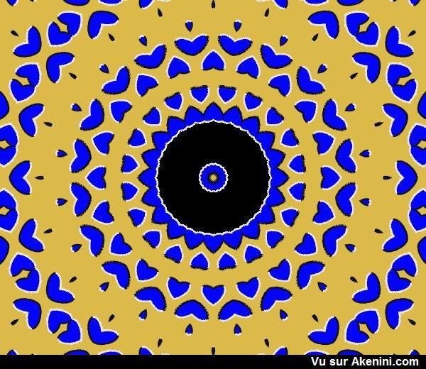 Effets Optiques Illusions De Mouvement 011 Trompe L Oeil Illusion Les Arts