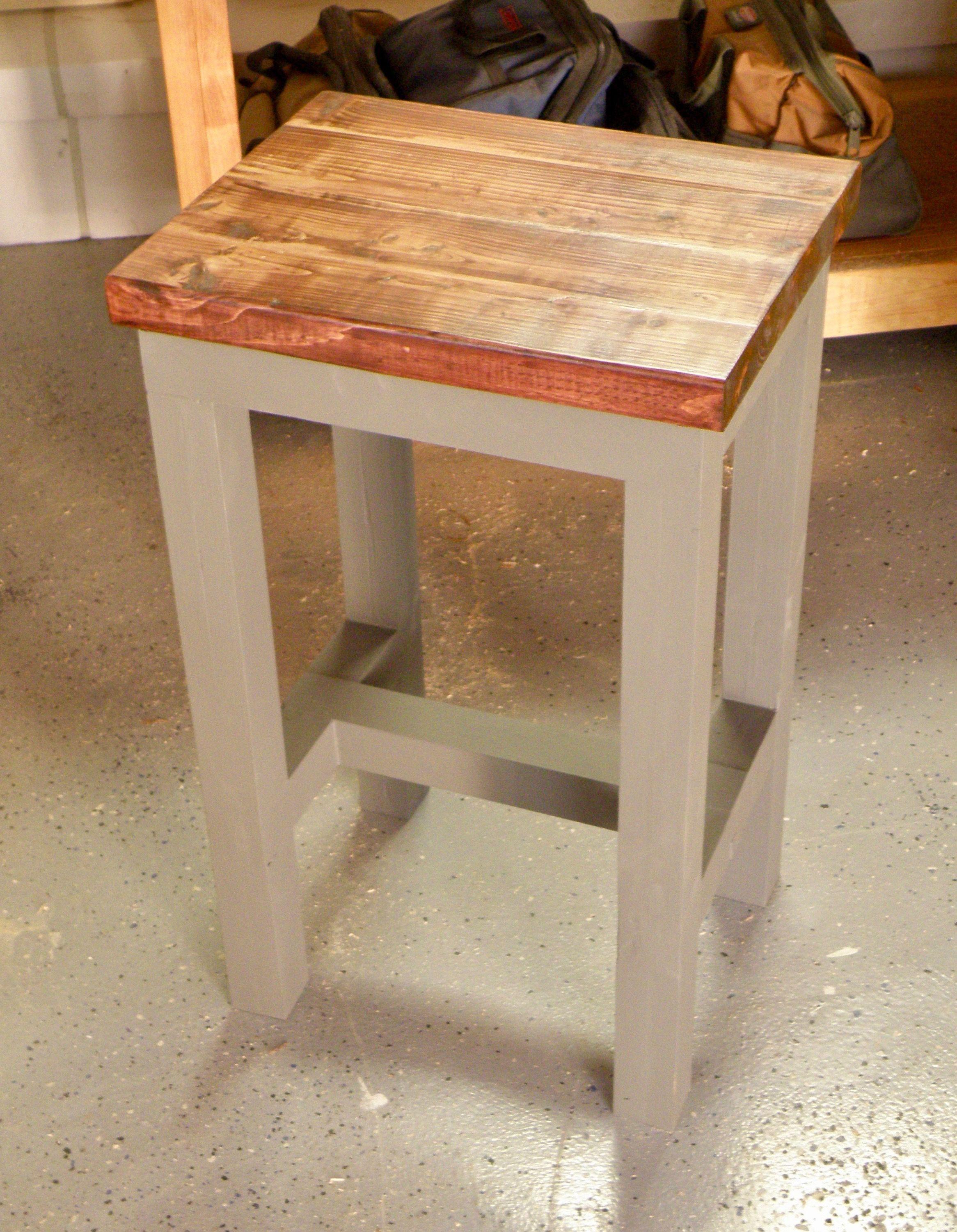 Super Workbench Stool Handmade From Douglas Fir Using Mortise Pdpeps Interior Chair Design Pdpepsorg
