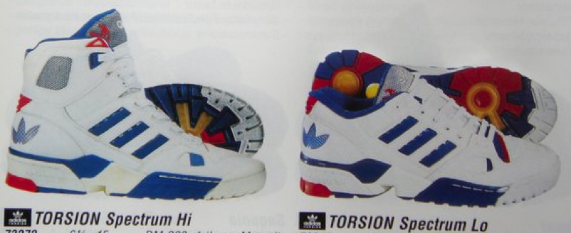 adidas torsion spectrum Hi & Lo - oldschool shoes