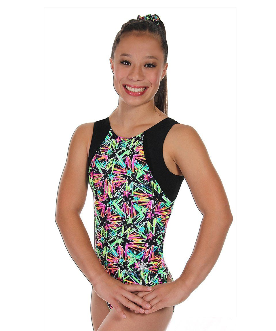 c64a207a4 Take a look at this Black Spectrum Leotard - Girls   Women today ...