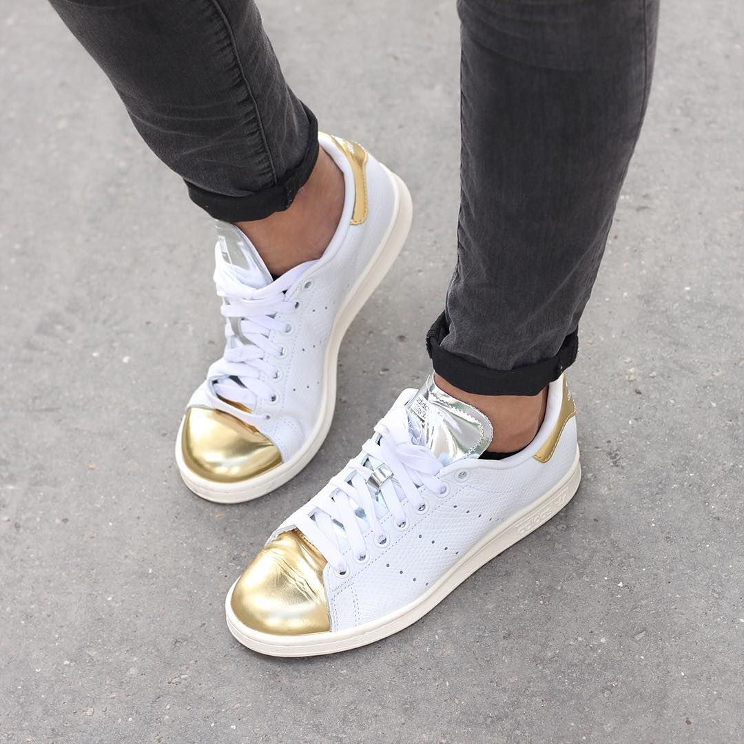 sneakers addict stan smith gold silver www.meganvlt.com  4a8dbf5340d6