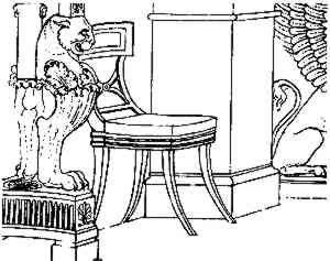 Furniture Designer Thomas Hope Designed A Lot Of Pieces