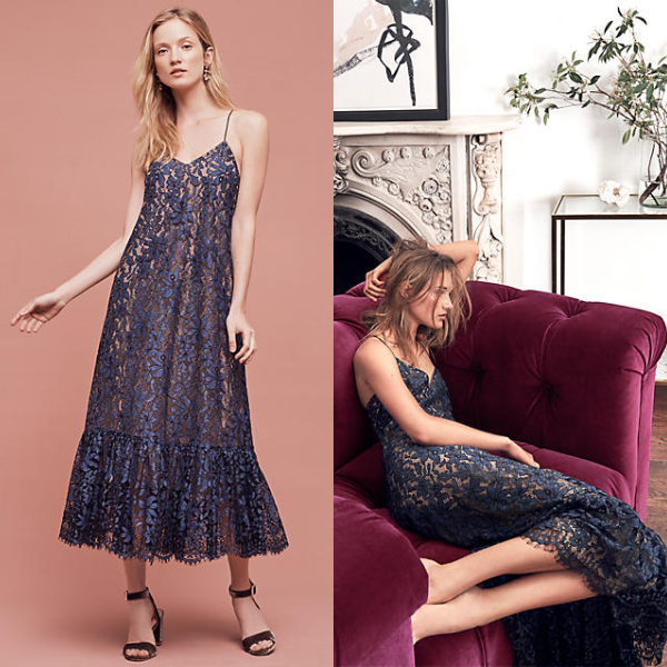 Celestial Lace Maxi Dress By Moulinette Soeurs Dress Lacedress