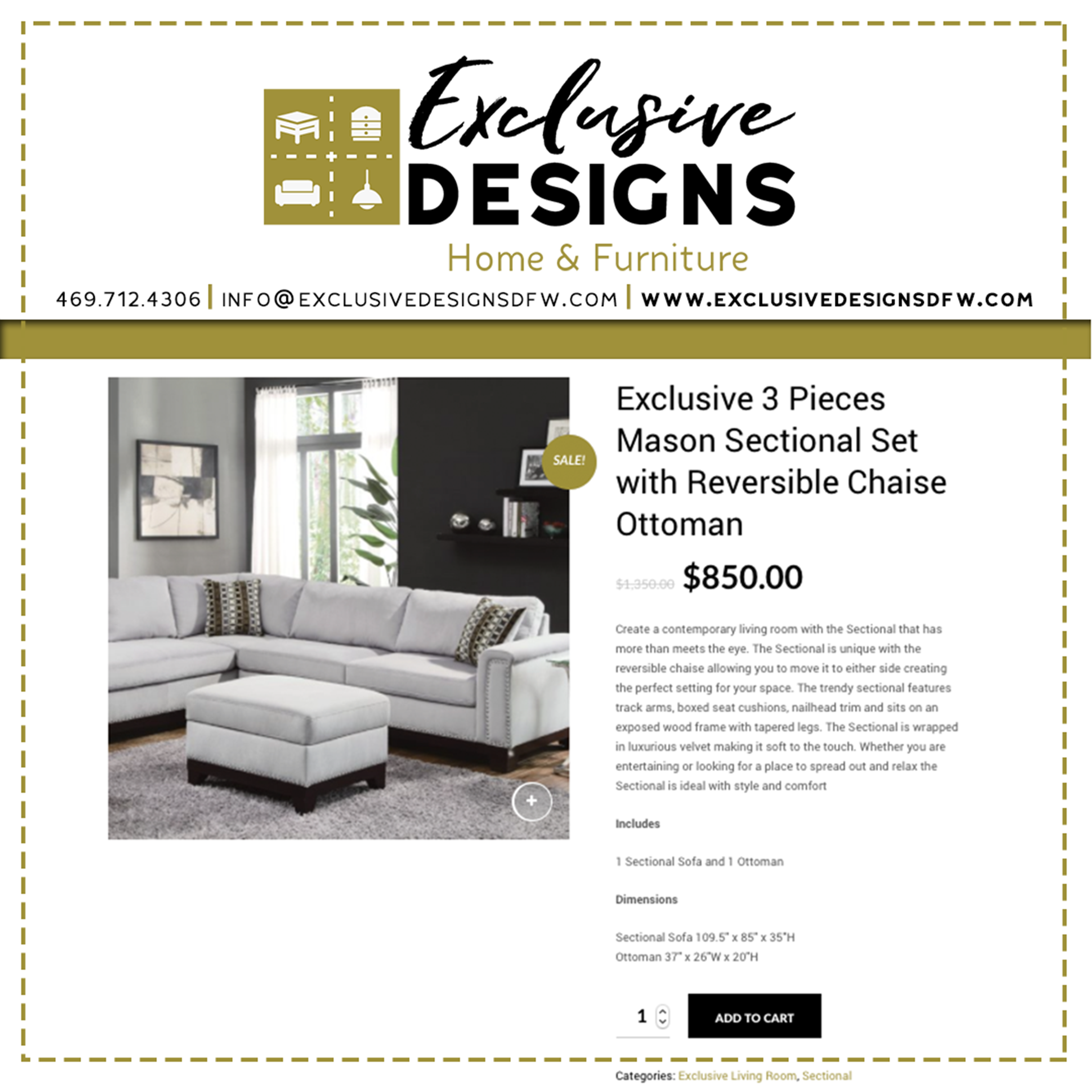 Pin by Exclusive Designs on Exclusive Designs Furniture