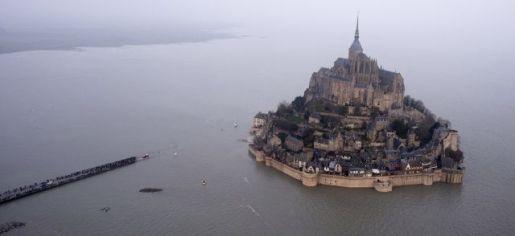 príliv a odliv Mt.St. Michel