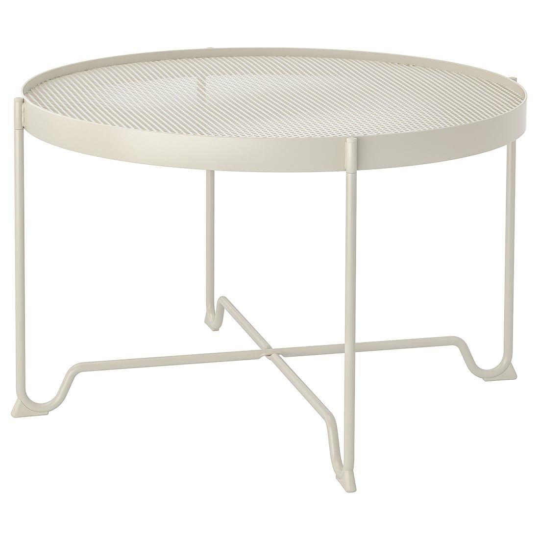 Krokholmen Coffee Table Outdoor Beige Ikea Iron Coffee Table Coffee Table Pictures Coffee Table Inspiration [ 1100 x 1100 Pixel ]