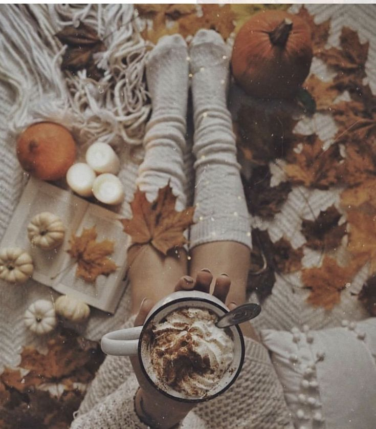 Herbst Dekor #collageboard