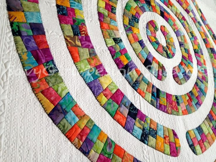 Modern Quilts With Circles Google Search Art Quilts Pinterest