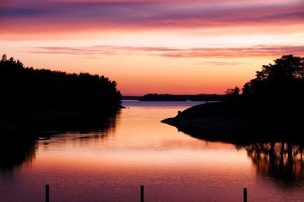 #Sunrise in #Finnish #Baltica