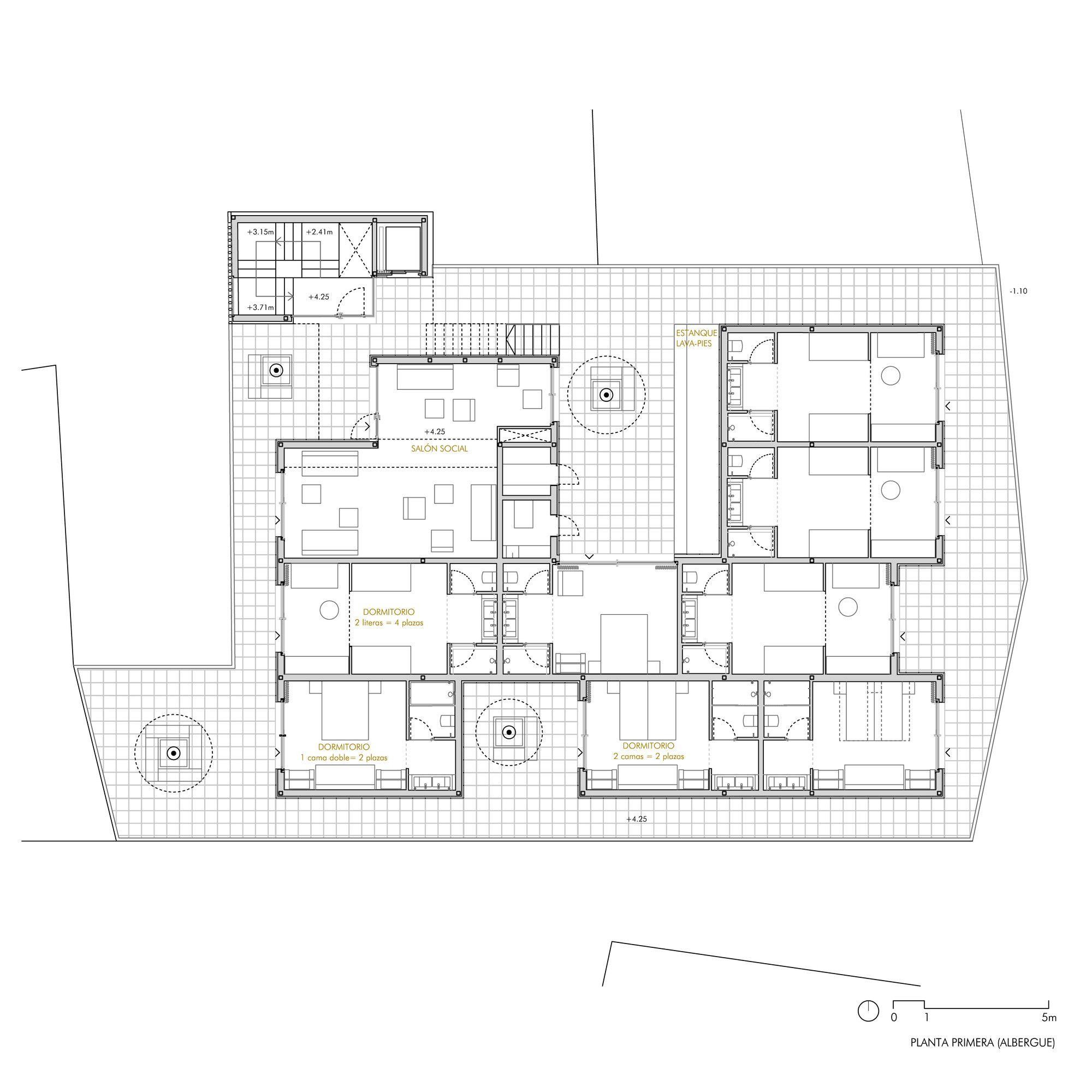 Gallery Of Bela Muxia Hostel Extension Creusecarrasco