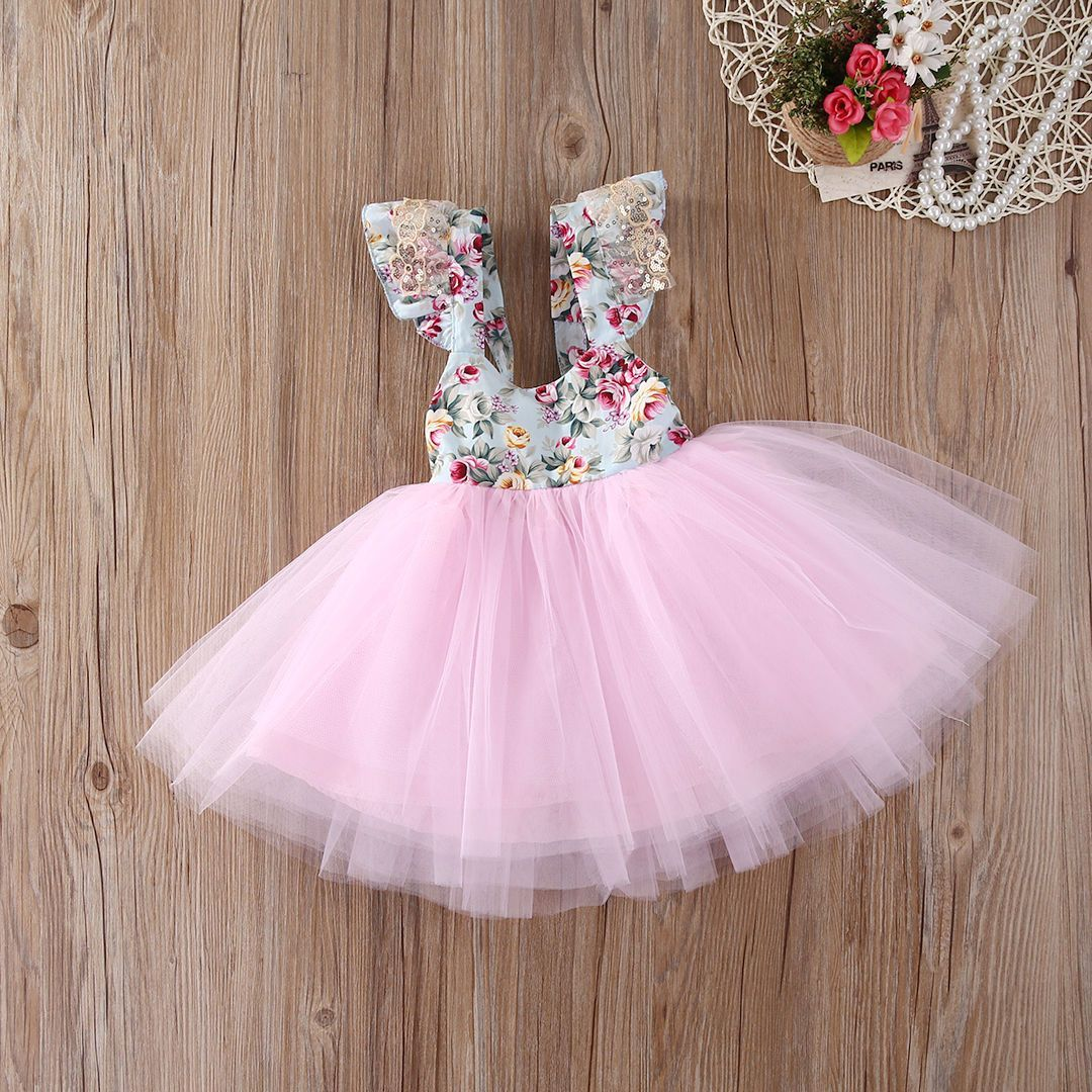 4093150369dc4 Luxury Girls 1st First Birthday Outfit Tutu Skirt Cake Smash Set Rose Gold