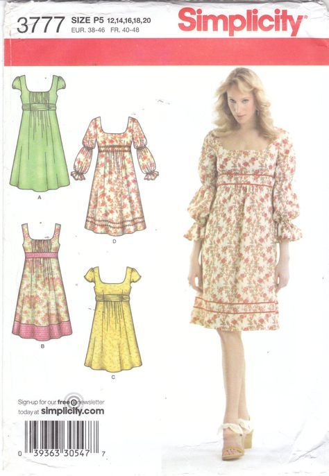 Sewing pattern for womens boho dress, sleeveless summer dress with ...
