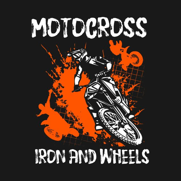 Check out this awesome 'MOTOCROSS+t-shirt' design on @TeePublic ...