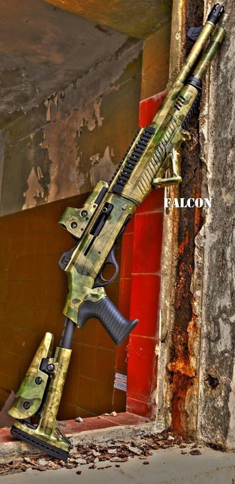 Tactical Shotgun #gunsammo