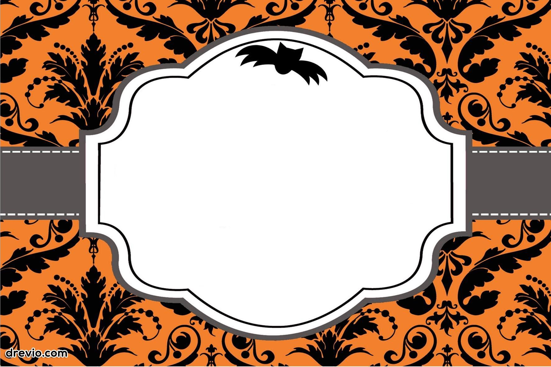 Free Printable Halloween Invitations Templates Free Printable
