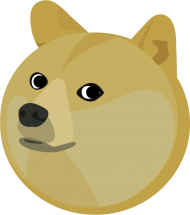 Doge Head Illustration Png Image With Transparent Background Png Free Png Images In 2021 Illustration Png Png Images