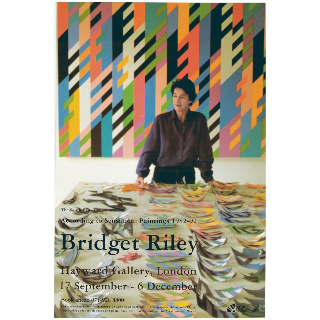 In The Archive Bridget Riley At Hayward Gallery