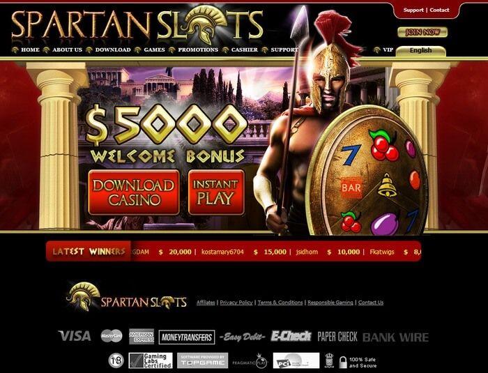Spartan Slots Online Casino Reviews Slot Online Casino