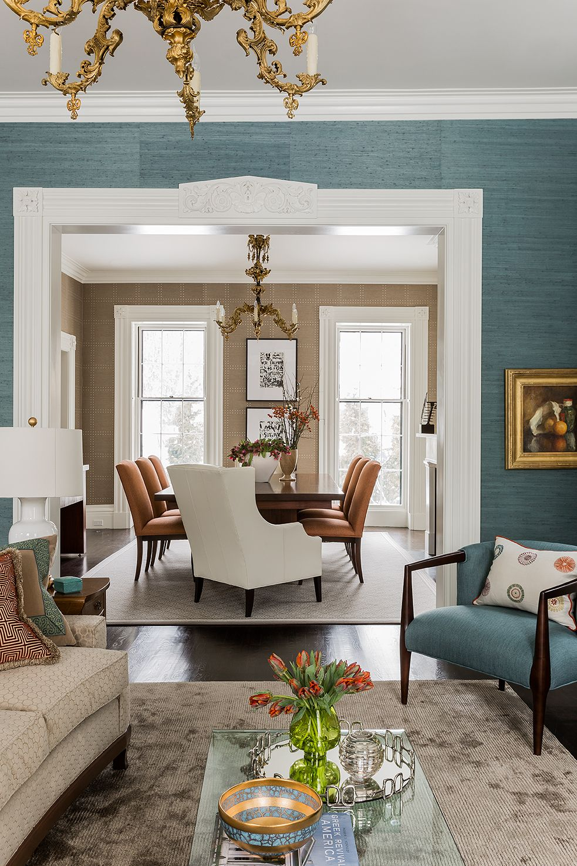 grasscloth wallpaper living rooms - photo #5
