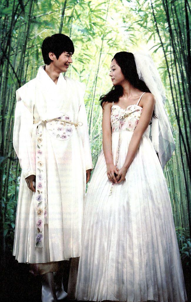 Asian Inspired Weddings The New Hanbok Western Inspired Asian