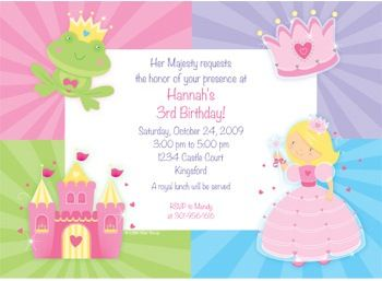 Fairytale princess party invitations princess party theme ideas princess birthday party invitation ideas will make a good complement for your daughters birthday party filmwisefo Gallery