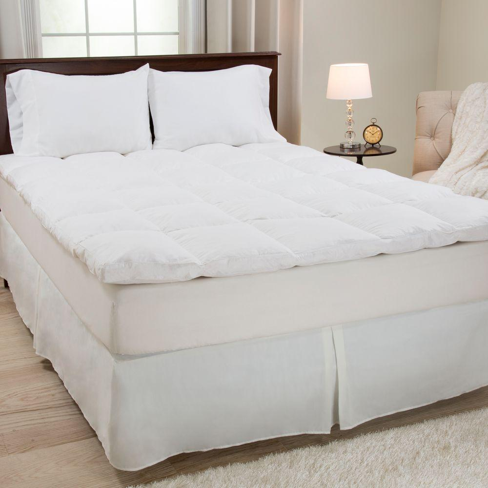 Lavish Home 2 In Queen Down Mattress Topper 64 17 Q Mattress