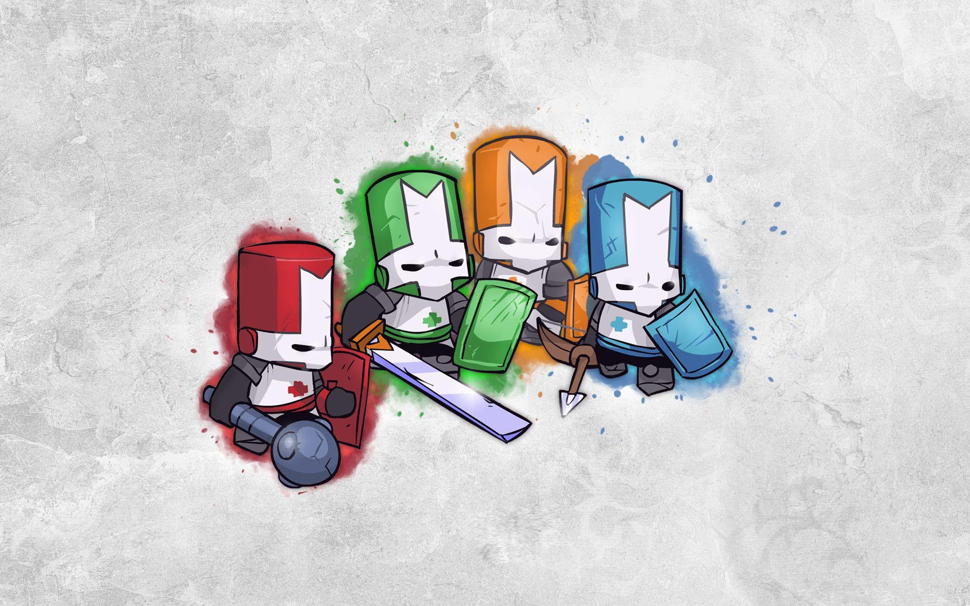 Castle Crashers Wallpaper Mejores Fondos De Pantalla De Videojuegos Dibujos Juegos Multijugador