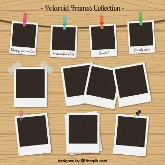 Coleccin De Marcos De Polaroid En Estilo Retro   ITatoo