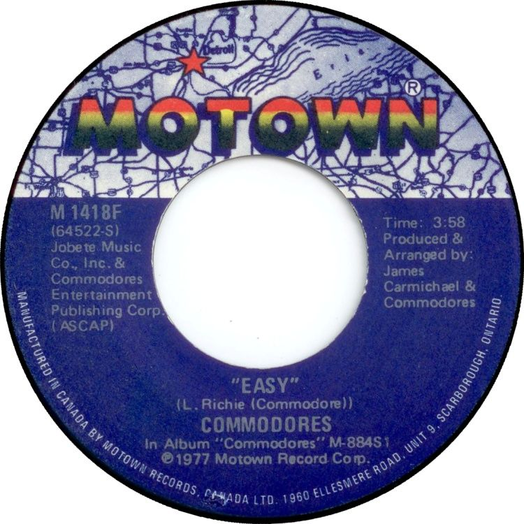 Commodores Easy Can T Let You Tease Me Canadian Issue 7 Vinyl 45rpm In Stock Now Diana Ross Diana Ross Supremes Tamla Motown