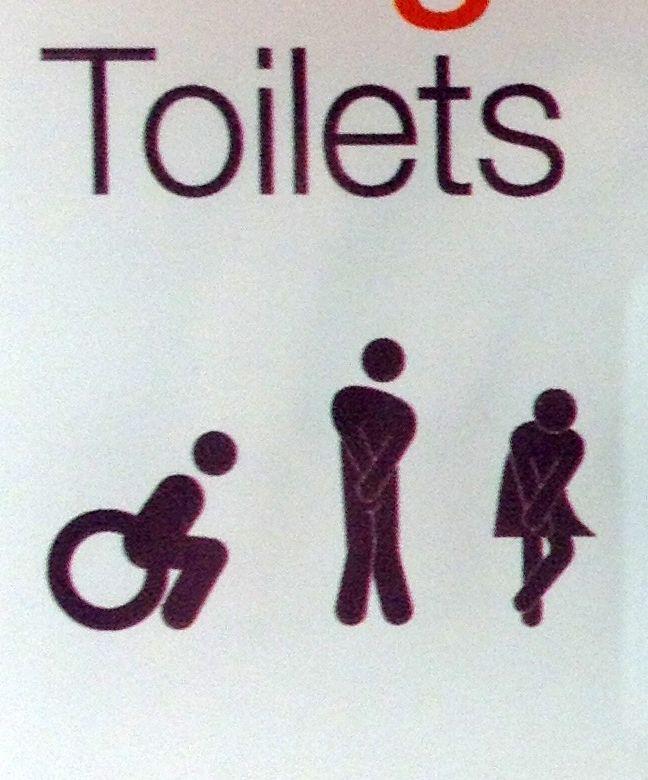 Segnaletica per i bagni | Icons | Pinterest | Icons