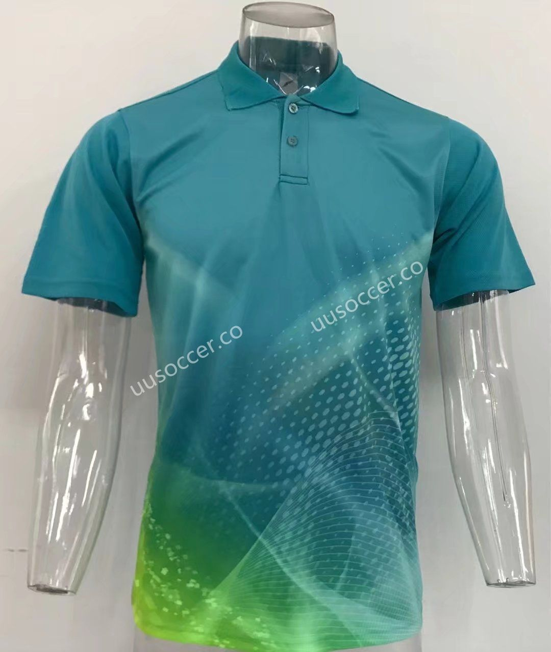 Thailand Polo Shirt Without Logo Light Green Top 6 Cheap Soccer