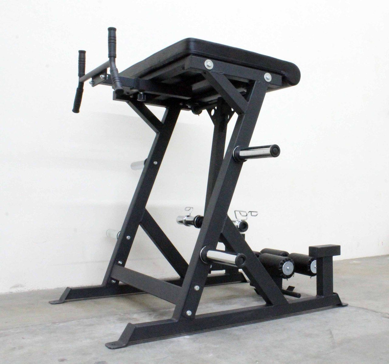 Commercial reverse hyper extension machine for crossfit