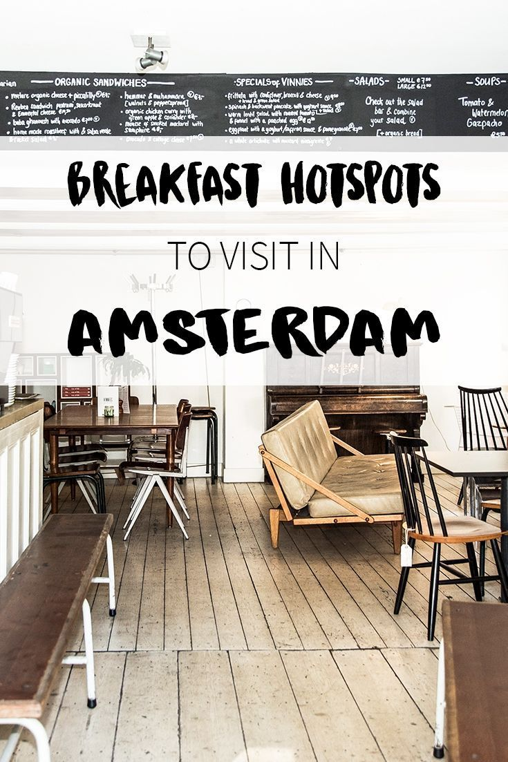 Photo of Hotspots for breakfast in Amsterdam // Your Little Black Book