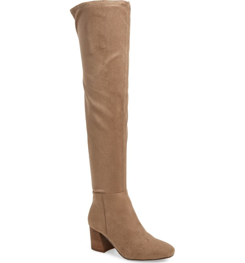 119d3d3d92d Free shipping and returns on Vince Camuto Kantha Over the Knee Boot (Women)  at Nordstrom.com. Sueded fabric keeps this striking over-the-knee boot soft  and ...